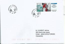 Vignette D'affranchissement IAR - ATM - Pêche - FDC - Faroe Islands