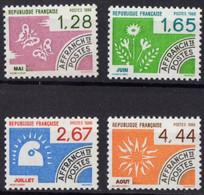FRANCE N** 190 A 193 - 1964-1988