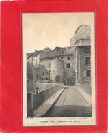 THIERS . PONT DE SEYCHAL ET RUE DUROLLE . CARTE ECRITE AU VERSO LE 29 JUILLET 1918 - Thiers