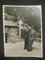 1937 PASSO SPLUGA HOMMES UOMINI MEN MACCHINA FOTOGRAFICA CAMERA DOGANE SVIZZERE - Places