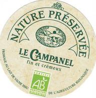 ETIQUETTE FROMAGE CAMEMBERT -   SPECIALITE -  LE CAMPANEL -  BIO - Käse