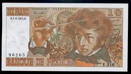10 Francs Berlioz 7-8-1975 FAYETTE F63 (&2)  SPL - 10 F 1972-1978 ''Berlioz''
