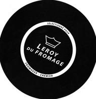 ETIQUETTE FROMAGE CAMEMBERT -  LEROY DU FROMAGE - Affineur -   FAB EN NORMANDIE - Käse