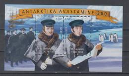 Estonia 2020 Mi Bl 49 Discovery Of Antarctica Mnh - Non Classificati
