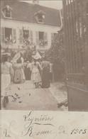 CARTE PHOTO   LIGNIERES 18  La Rosière De 1905 - Sonstige Gemeinden