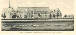 Cpa Passy-Froyennes * Belgique , Le Pensionnat Vu De La Route De Tournai , Non Voyagée - Tournai