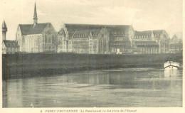 Cpa Passy-Froyennes * Belgique , Le Pensionnat Vu Des Rives De L'Escaut , Non Voyagée - Tournai