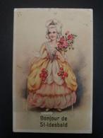 Carte à Système Bonjour De Saint Idesbald - Koksijde