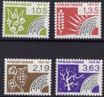 FRANCE N** 178 A 181 - 1964-1988