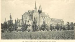 Cpa Passy-Froyennes * Belgique , Le Pensionnat Vu De La Gare , Non Voyagée - Tournai