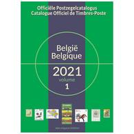 Catalogue Officiel Belge De Timbres-Poste 2021 - Belgio