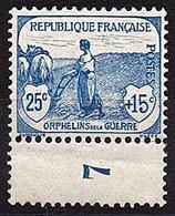 ORPHELINS De La GUERRE  -  1917 / 18  -  N° 151 ** - Ungebraucht