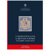 2021 Stanley Gibbons Commonwealth & British Empire Stamp Catalogue - Gran Bretagna