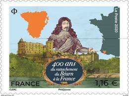 Timbre Neuf** MNH France 2020 : 400 Ans Du Rattachement Du Béarn à La France - Unused Stamps