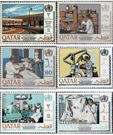 Ref. 344963 * MNH * - QATAR. 1968. 20th ANNIVERSARY OF THE WHO . 20 ANIVERSARIO DE LA OMS - Qatar
