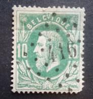 BELGIE   1869   Nr. 30    L 416    Anvers - Bassing    Nipa 200 - 1869-1883 Leopold II