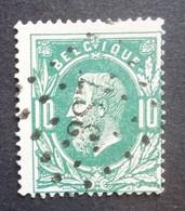 BELGIE   1869   Nr. 30    L 287    Walcaart    Nipa 100 - 1869-1883 Leopold II