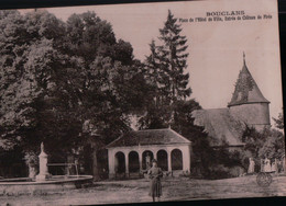 11380  BOUCLANS   1917 ECRITE - Autres Communes