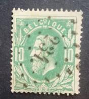 BELGIE   1869   Nr. 30    L 234    Manage    Nipa 100 - 1869-1883 Leopold II