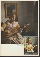 Carte Maxmium Card Sharjah Vermeer La Joueuse De Guitare - Otros
