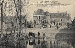 SAINT-CYR-la-ROSIÈRE - Hameau De Sainte-Gauburge - Manoir Fortifié Des Charponnières - Altri Comuni