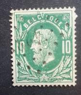 BELGIE   1869   Nr. 30    L 423    Ghislenghien    Nipa  1500 - 1869-1883 Leopold II