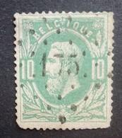 BELGIE   1869   Nr. 30    L 175   Herbestal    Nipa  200 - 1869-1883 Leopold II