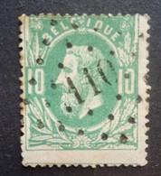 BELGIE   1869   Nr. 30    L 110   Enghien   Nipa  150 - 1869-1883 Leopold II
