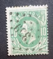 BELGIE   1869   Nr. 30    L 359   Thuin   Nipa  150 - 1869-1883 Leopold II