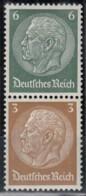 DR S 153, Postfrisch **, Hindenburg 1937/39 - Zusammendrucke