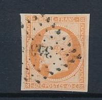 P-214: FRANCE: Oblitération Losange Petits Chiffres N°343 Sur N°16  Ind 11 (Beine (49)) - 1853-1860 Napoleon III