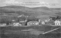 Sologny La Croix Blanche Canton Mâcon éd Combier Poste (à Droite) - Other Municipalities