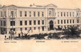 Thematiques Grece Athenes La Banque Nationale - Griechenland
