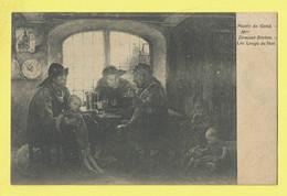 * Gent - Gand (Oost Vlaanderen) * (nr 1793) Musée Du Gand, Mme Demont Breton, Les Loups De Mer, Peinture - Gent