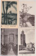 Ca - Lot De 22 Cpa Maroc - MARRAKECH- Rue Des Vanniers, Place Djma El Fna, Koutoubia, Oued, Tombeaux, Casbah,  ... - Marrakech