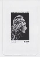 Timbre Marianne L'engagée 3,20 € ** Neuf Issu De Carnet - 2018-... Marianne L'Engagée