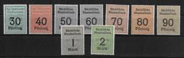 Deutsches Reich Sächsische Staatseisenbahn Railway Stamps - Non Classificati