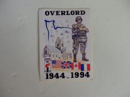 Autocollant Sur Overlord 1944-1994. - Adesivi