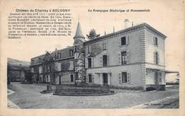 Sologny La Croix Blanche Canton Mâcon Château Du Charnay éd Combier La Bourgogne Historique Et Monumentale - Other Municipalities