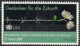 2008 UNO Wien Mi. 521**MNH    Internationaler Holocaust-Gedenktag: Gedenken Für Die Zukunft - Neufs