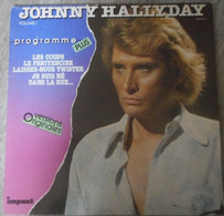 Vinyl - 33 Tours - Johnny Hallyday- Programme Plus - Volume 1 - Rock