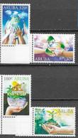 ARUBA, 2020, MNH, EARTH DAY, RECYCLING, TREES, FISH, TURTLES, LIZARDS, BUTTERFLIES, 4v - Schmetterlinge