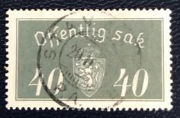 Norge - Norway - Noorwegen - P4/4 - (°)used -1934 - Michel D18 I - Offentlig Sak - Service