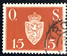 Norge - Norway - Noorwegen - P4/4 - (°)used -1951 - Michel 63 - Offentlig Sak - O.S. - Service