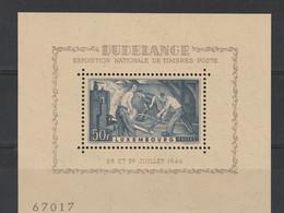 Luxemburg 1946 Blok Nr 6 * (zegel **), Zeer Mooi Lot Krt 4288 - Neufs