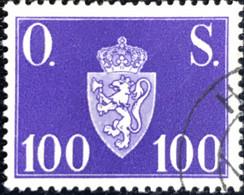 Norge - Norway - Noorwegen - P4/4 - (°)used -1951 - Michel D67 - Offentlig Sak - O.S. - Service