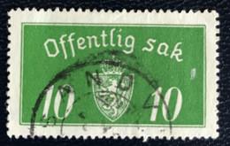 Norge - Norway - Noorwegen - P4/4 - (°)used -1934 - Michel 12 II - Offentlig Sak - Service