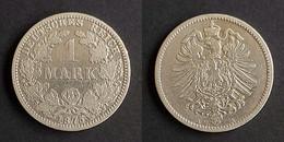 Duitse Rijk 1 Mark, 1875 A Germany - Empire Mark KM# 7 - 1 Mark