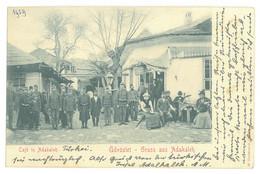 RO 36 - 18729 ADA-KALEH, Bazar, Romania - Old Postcard - Used - 1909 - Rumania