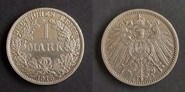 Duitse Rijk 1mark,1915 A Germany - Empire Mark KM# 14 - 1 Mark